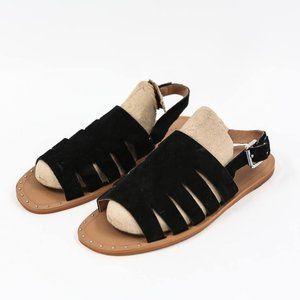 Halogen Jannie Black Slingback Sandals 5.5 US